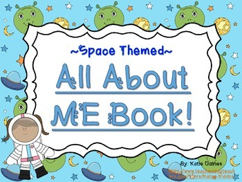 All About Me Book- SPACE themed!