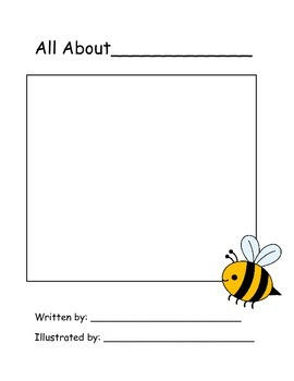 All About Me Book Template