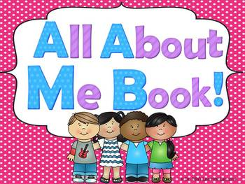 All About Me Book (a book for early/emergent readers)