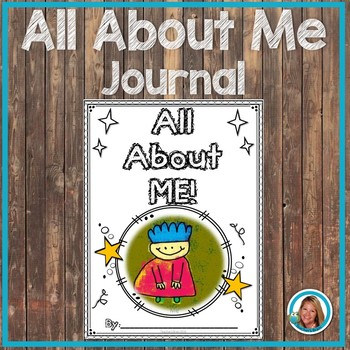 All About Me Book for Primary