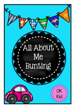 All About Me Bunting