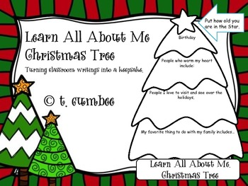 All About Me Christmas Tree
