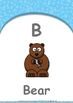 All About Me - Clothes : Letter B : Bear - Nursery (2 years old)