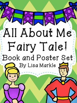 All About Me Fairy Tale Emergent Reader and Bulletin Board