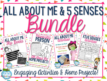 All About Me & Five Senses BUNDLE!