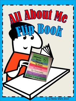 First Week of School - All About Me Flip Book