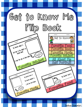Get to Know Me Flip Book