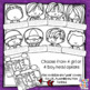 All About Me Flip Book - 3rd Grade Back to School Coloring