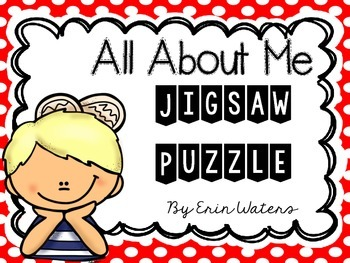 All About Me Jigsaw Puzzle [FREEBIE]