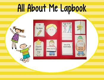 All About Me Lapbook