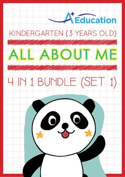 4-IN-1 BUNDLE - All About Me (Set 1) - Kindergarten, K1 (3