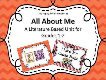 All About Me  Literature Based Unit for Grade 1-2