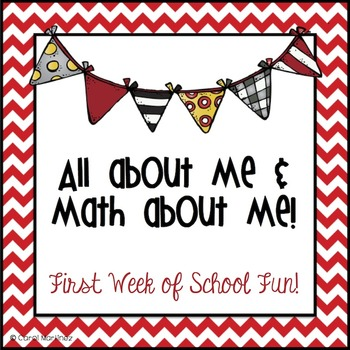 All About Me & Math About Me