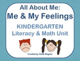 All About Me: Me & My Feelings Unit