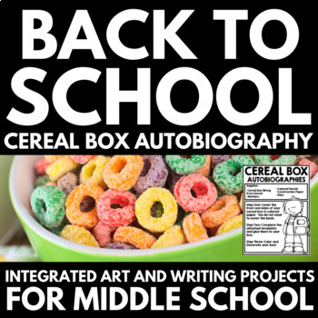 All About Me - Back to School - Middle School Autobiographies
