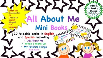 All About Me Mini Books  BUNDLE - English and Spanish - ES