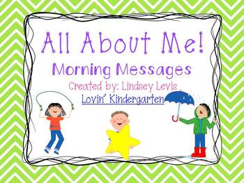 All About Me!- Morning Messages