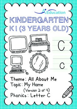 All About Me - My Home (II): Letter C - Kindergarten, K1 (