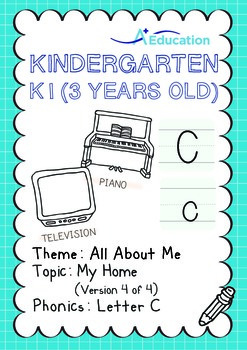 All About Me - My Home (IV): Letter C - Kindergarten, K1 (