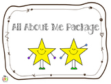 All About Me Package - Back To School Activities