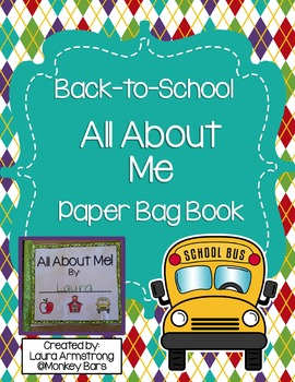 All About Me Paper Bag Book
