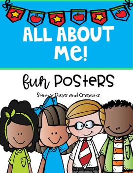 All About Me Fun Posters { Melonheadz Kids }