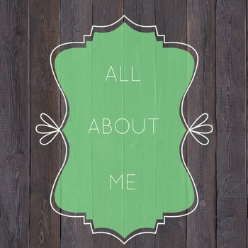 All About Me (Printable Poster)