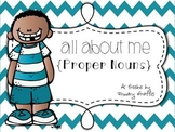 All About Me: Proper Nouns {Freebie}