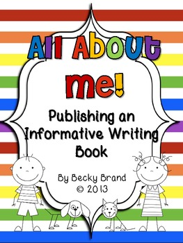 All About Me - Publishing an Informative Writing Book (Com