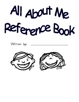 All About Me Reference Materials Table of Contents Diction
