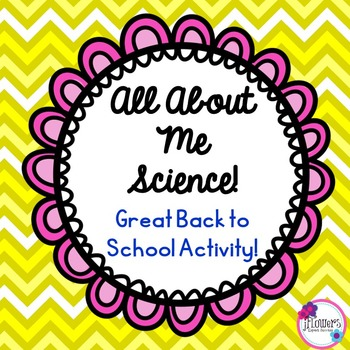 All About Me Science! Great Back to School Activity!