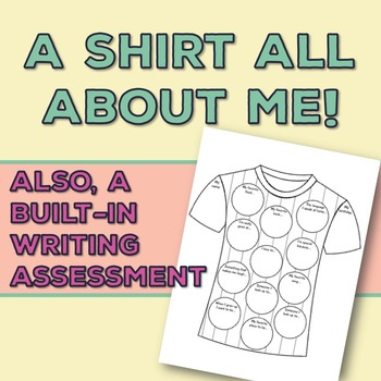 All About Me Shirt: Decorate a Shirt About You [Great Bull
