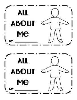 All About Me {Student Book}
