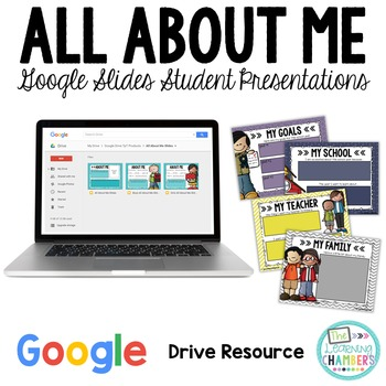 All About Me - Student Google Slides
