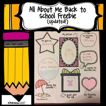 All About Me Superstar Student