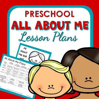 All About Me Theme Preschool Classroom Lesson Plans