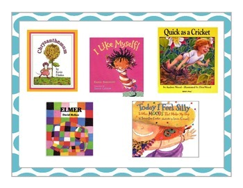 All About Me Unit Read Aloud Pack