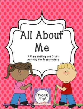All About Me Writing and Craft Activities