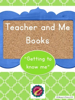 """""""All About Me"""" book (Gr. K-1)"""