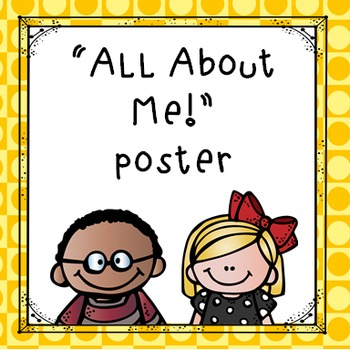 """All About Me"" Printable Poster Freebie"