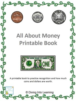 All About Money Printable Book