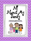 """""""All About My Family"""" Book"""