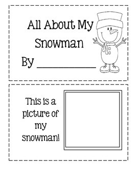 All About My Snowman