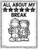 All About My Winter Break: A Booklet