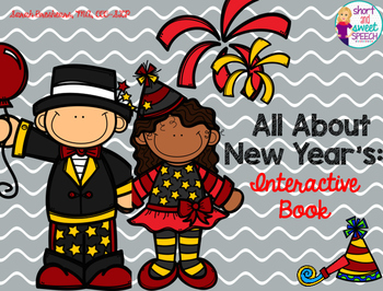 All About New Year's: Interactive Book