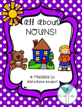 All About Nouns! FREEBIE