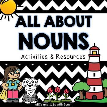 All About Nouns {A Noun Unit}