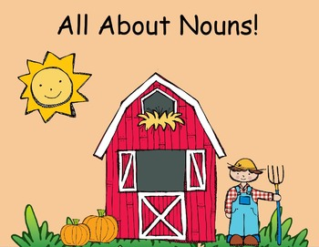 All About Nouns- Flipchart