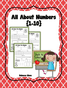 All About Numbers {1-10}
