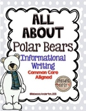 All About Polar Bears Informational Writing Common Core Aligned